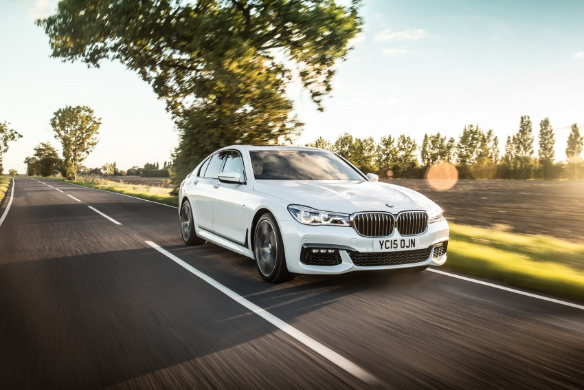 GALLERY: G11 BMW 7 Series in right hand drive form Image #391561