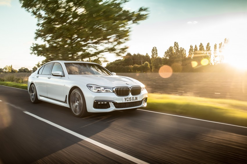 GALLERY: G11 BMW 7 Series in right hand drive form Image #391566