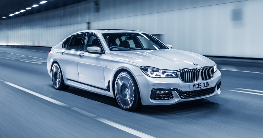 GALLERY: G11 BMW 7 Series in right hand drive form Image #391568
