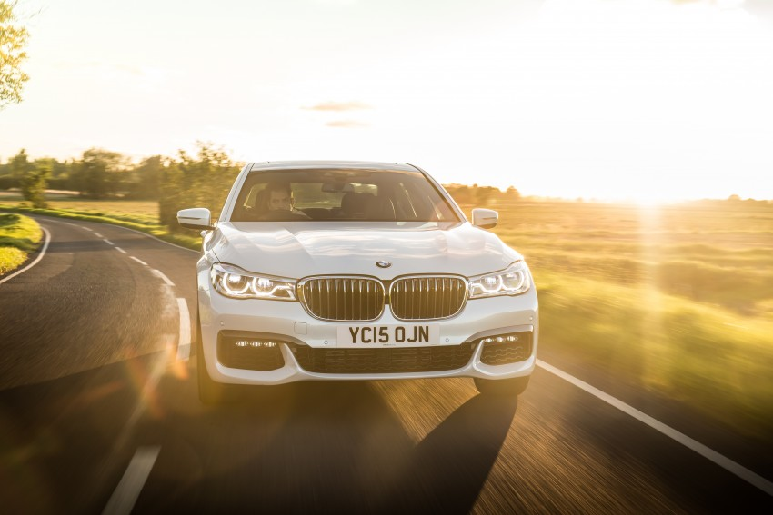 GALLERY: G11 BMW 7 Series in right hand drive form Image #391576