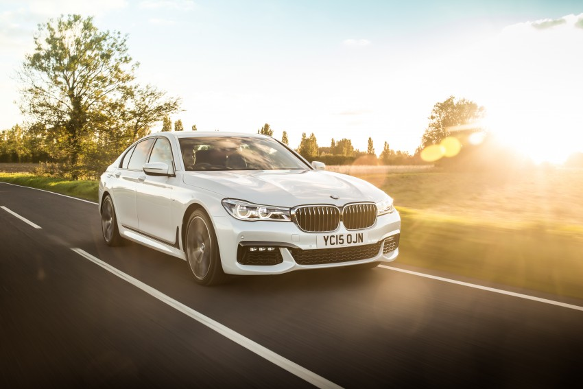GALLERY: G11 BMW 7 Series in right hand drive form Image #391578