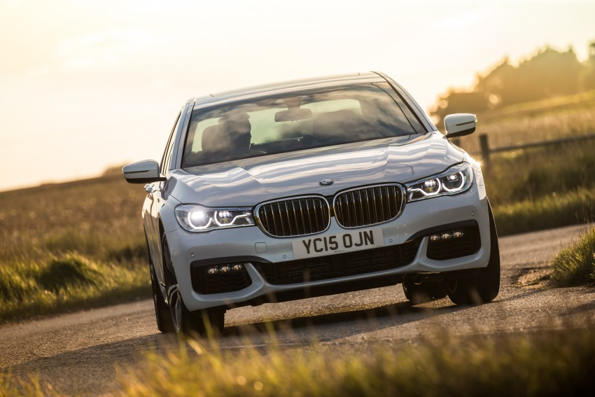 GALLERY: G11 BMW 7 Series in right hand drive form Image #391585