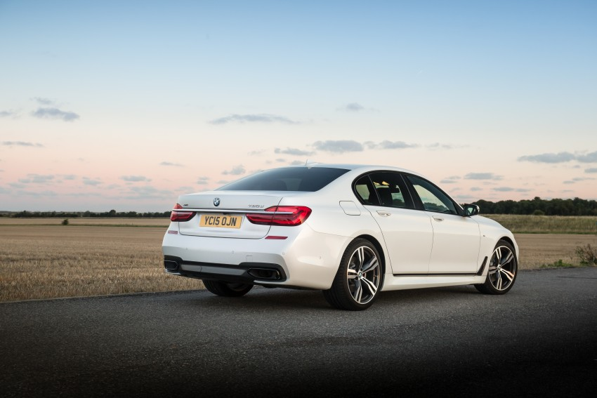 GALLERY: G11 BMW 7 Series in right hand drive form Image #391594