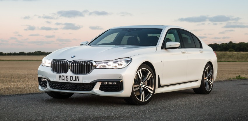 GALLERY: G11 BMW 7 Series in right hand drive form Image #391596