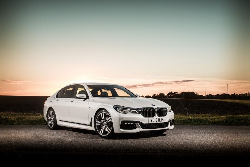 GALLERY: G11 BMW 7 Series in right hand drive form Image #391600