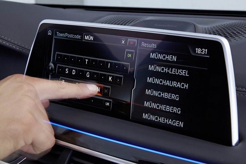 GALLERY: G11 BMW 7 Series in right hand drive form Image #391638