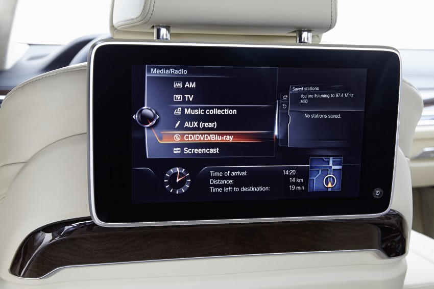 GALLERY: G11 BMW 7 Series in right hand drive form Image #391662
