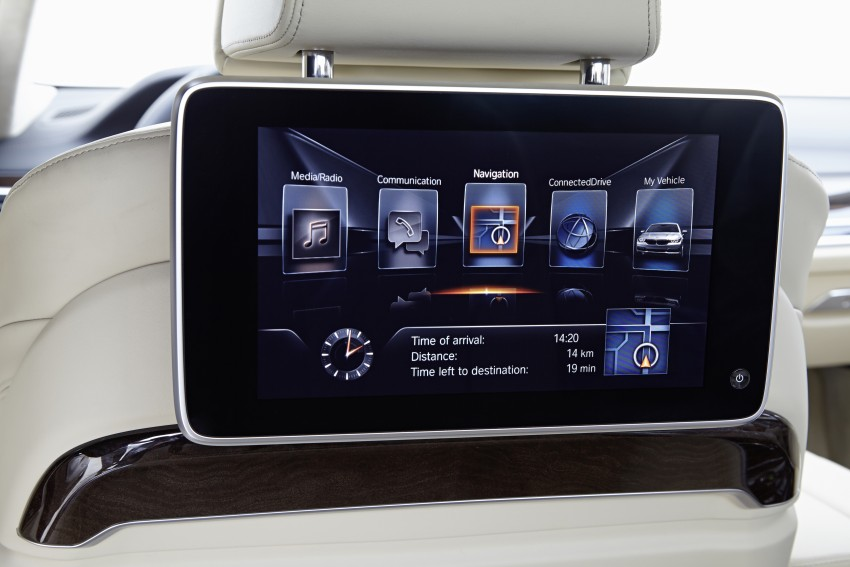 GALLERY: G11 BMW 7 Series in right hand drive form Image #391664