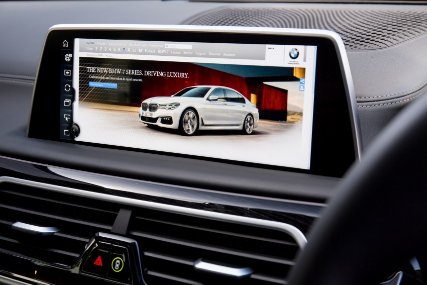 GALLERY: G11 BMW 7 Series in right hand drive form Image #391683