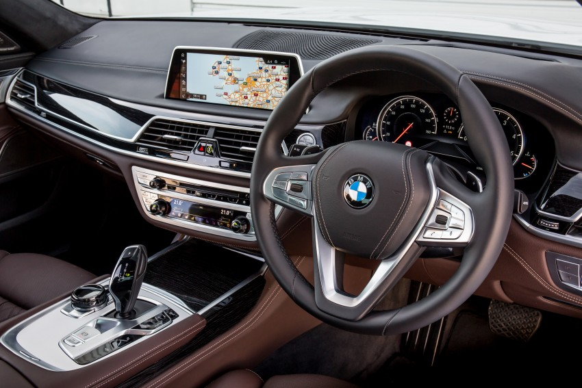 GALLERY: G11 BMW 7 Series in right hand drive form Image #391701