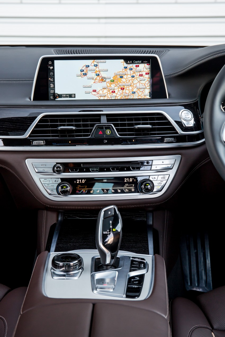 GALLERY: G11 BMW 7 Series in right hand drive form Image #391706