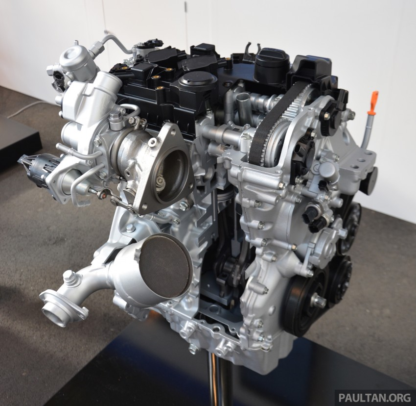 2017 Honda Civic for Europe – 127 hp 1.0 litre VTEC Turbo and 201 hp ...