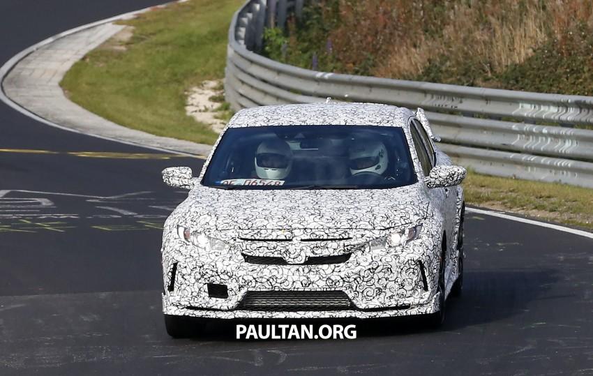SPIED: Next-gen Honda Civic Type R 5-door hatchback Image #392128