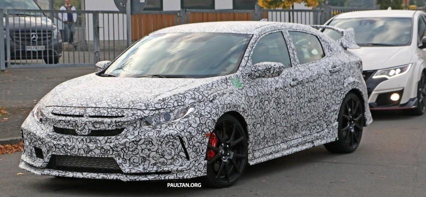 SPIED: Next-gen Honda Civic Type R 5-door hatchback Image #392138
