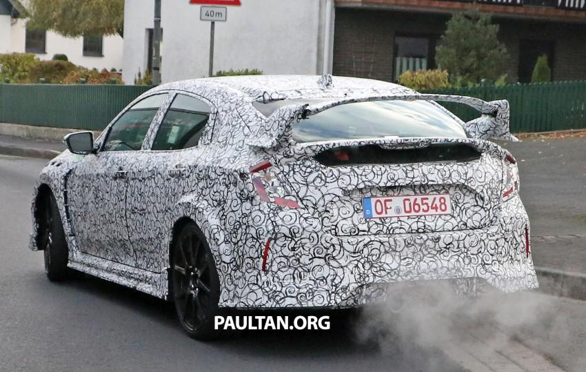 SPIED: Next-gen Honda Civic Type R 5-door hatchback Image #392142