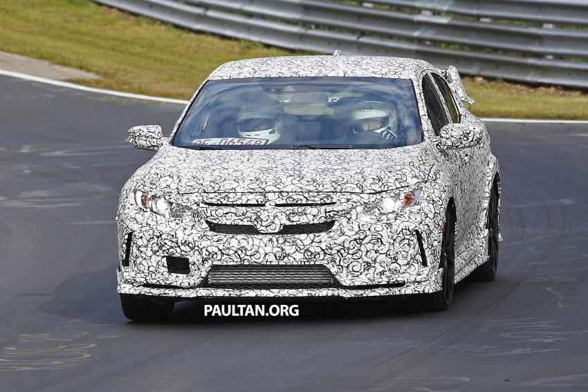 SPIED: Next-gen Honda Civic Type R 5-door hatchback Image #392144