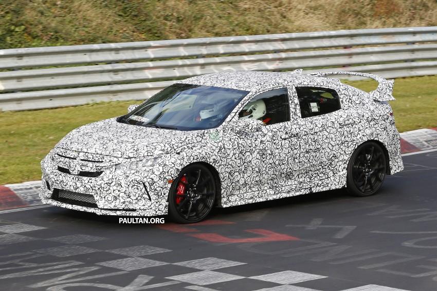 SPIED: Next-gen Honda Civic Type R 5-door hatchback Image #392146