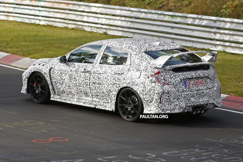 SPIED: Next-gen Honda Civic Type R 5-door hatchback Image #392149