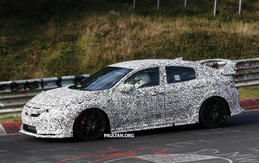 SPIED: Next-gen Honda Civic Type R 5-door hatchback Image #392132
