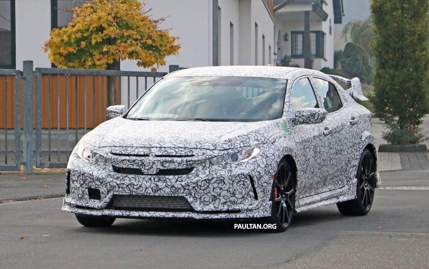 SPIED: Next-gen Honda Civic Type R 5-door hatchback Image #392136