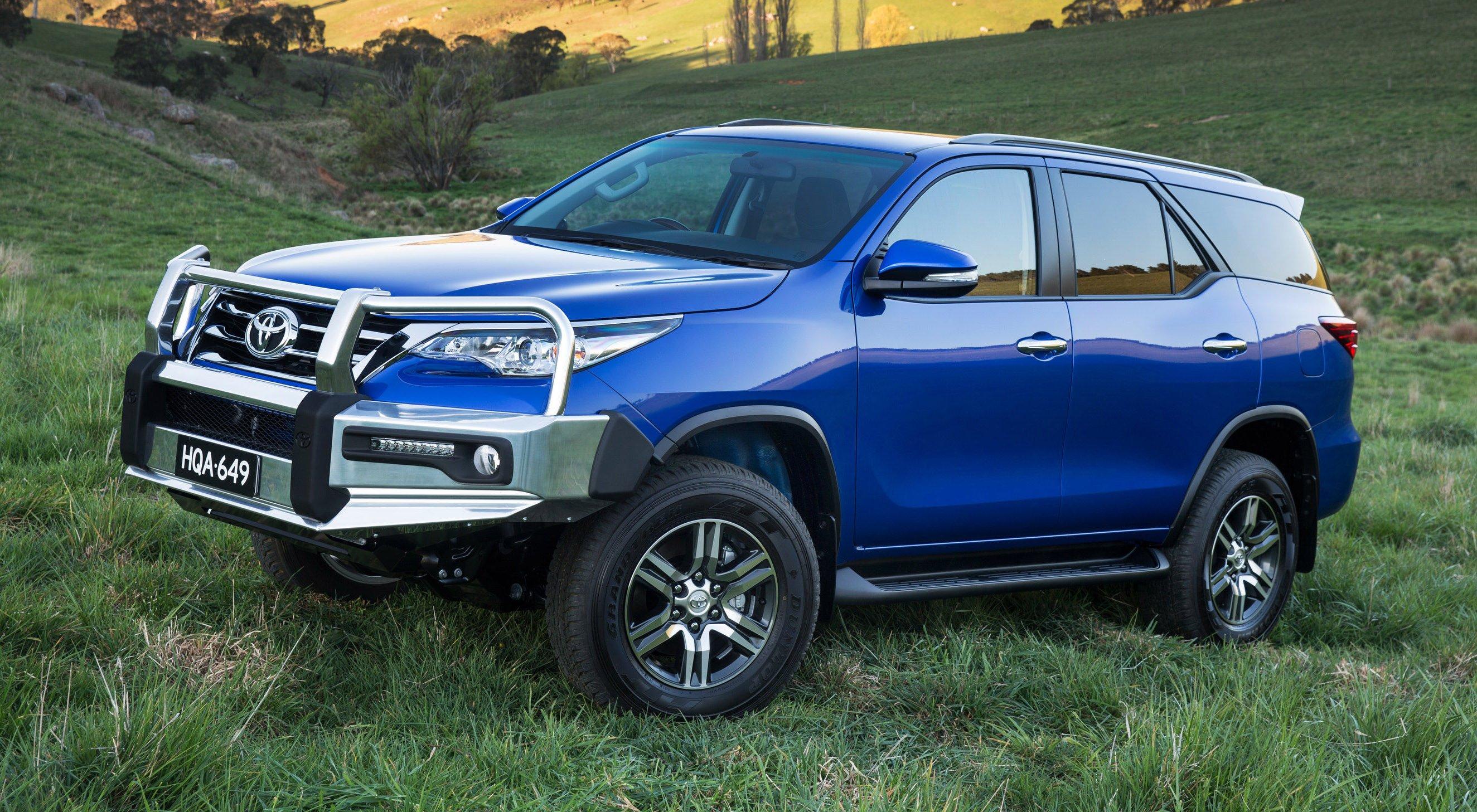 Toyota Fortuner Gets Detailed In Australian Specs Paul Tan