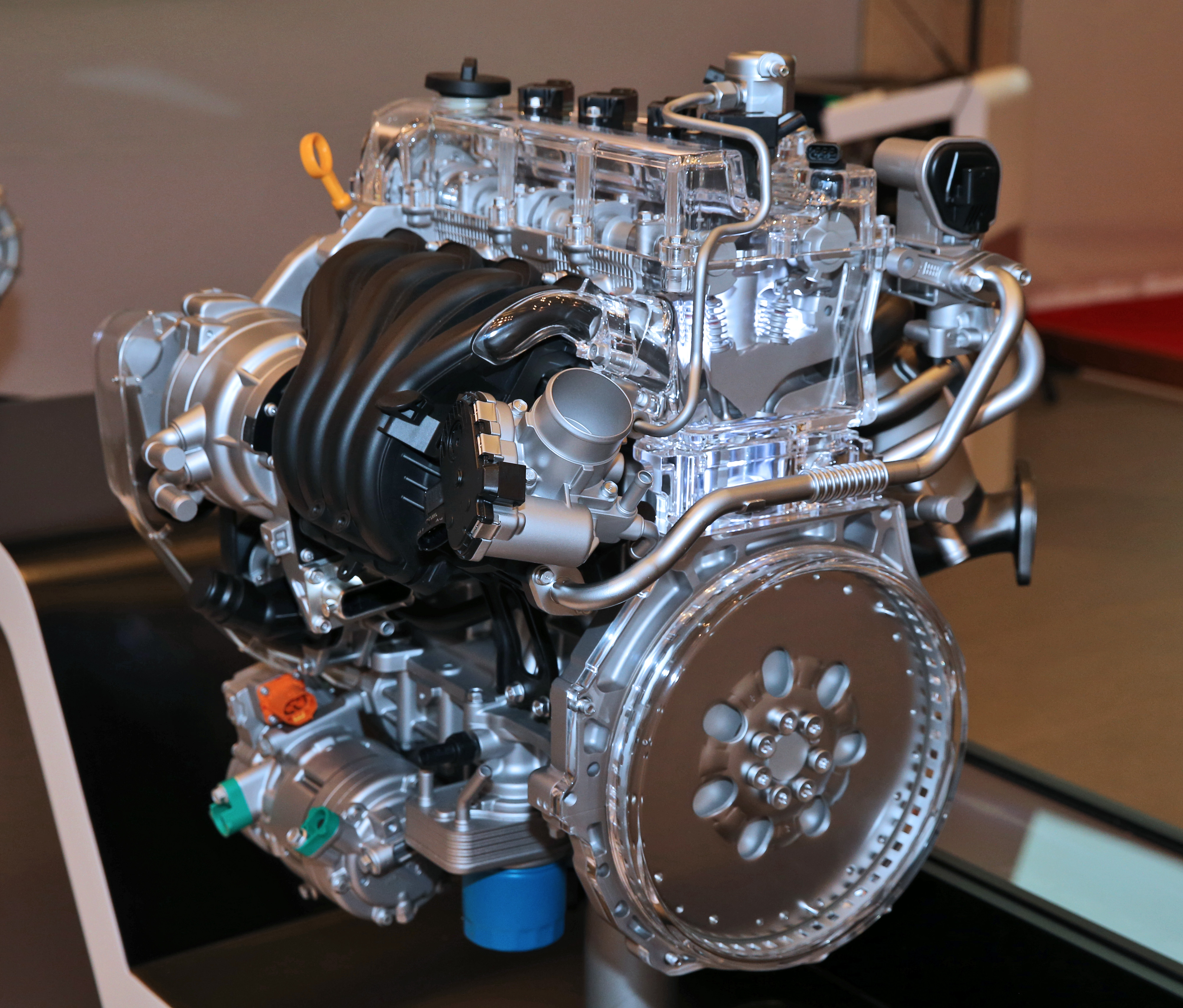 Hyundai Motor Unveils New 1 6l Kappa Gdi Engine Eight