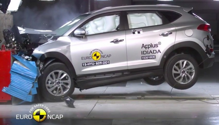 2016 Hyundai Tucson Gets Five Star Euro Ncap Rating