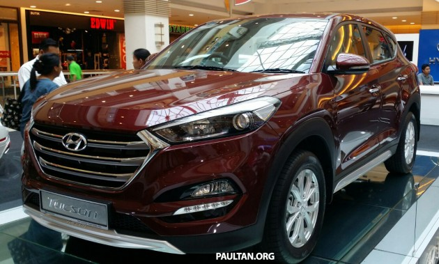 2016 Hyundai Tucson Previewed At Sunway Carnival Mall