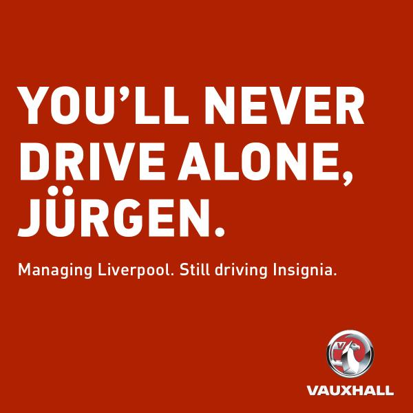 Opel ambassador Jürgen Klopp to continue driving Insignia at LFC, but will have to get used to RHD Image #390893