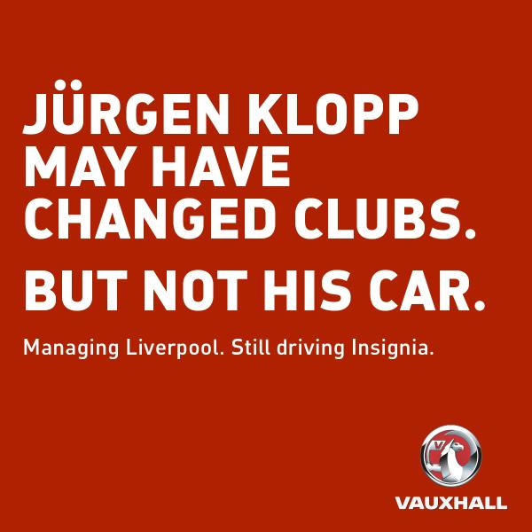 Opel ambassador Jürgen Klopp to continue driving Insignia at LFC, but will have to get used to RHD Image #390894
