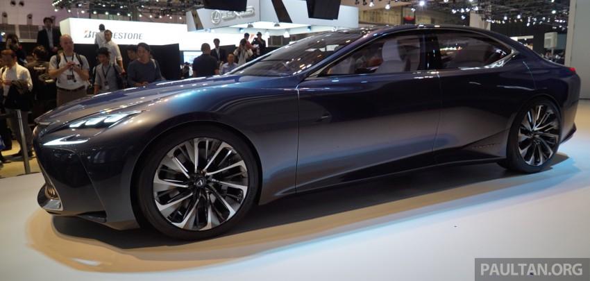 Tokyo 2015: Lexus LF-FC concept previews next LS Image #399042
