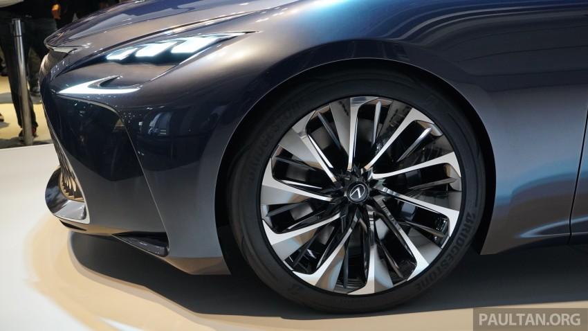Tokyo 2015: Lexus LF-FC concept previews next LS Image #399044