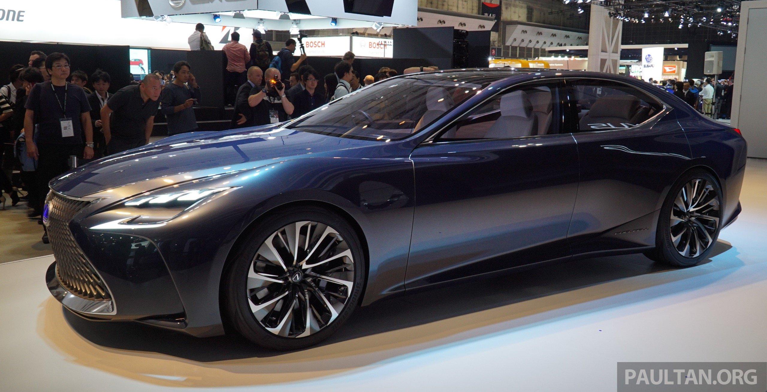 Tokyo 2015 Lexus Lf Fc Concept Previews Next Ls Image 399046