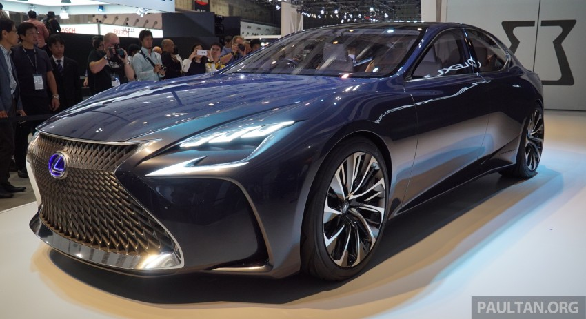 Tokyo 2015: Lexus LF-FC concept previews next LS Image #399047
