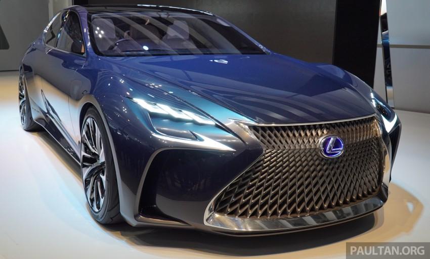 Tokyo 2015: Lexus LF-FC concept previews next LS Image #399051
