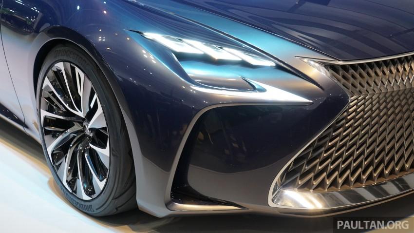 Tokyo 2015: Lexus LF-FC concept previews next LS Image #399052