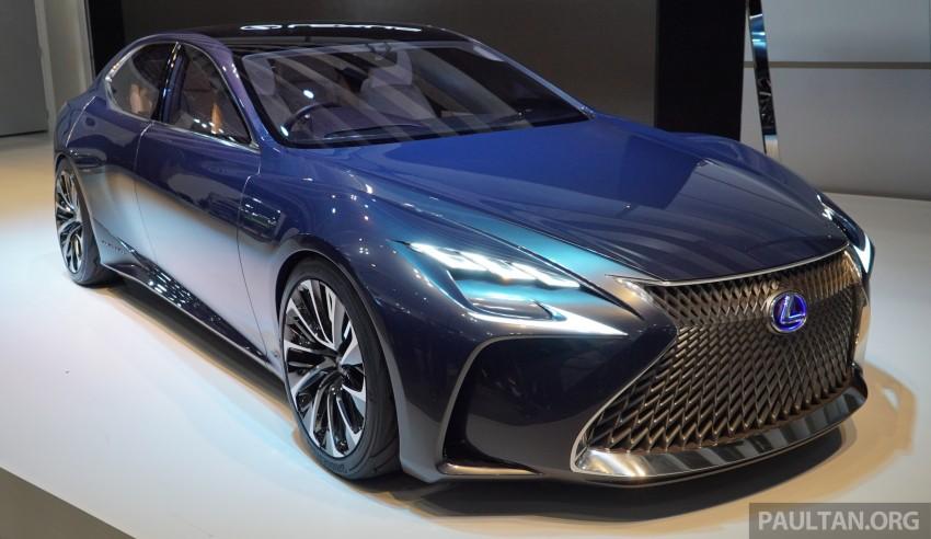 Tokyo 2015 Lexus Lf Fc Concept Previews Next Ls Image 399053