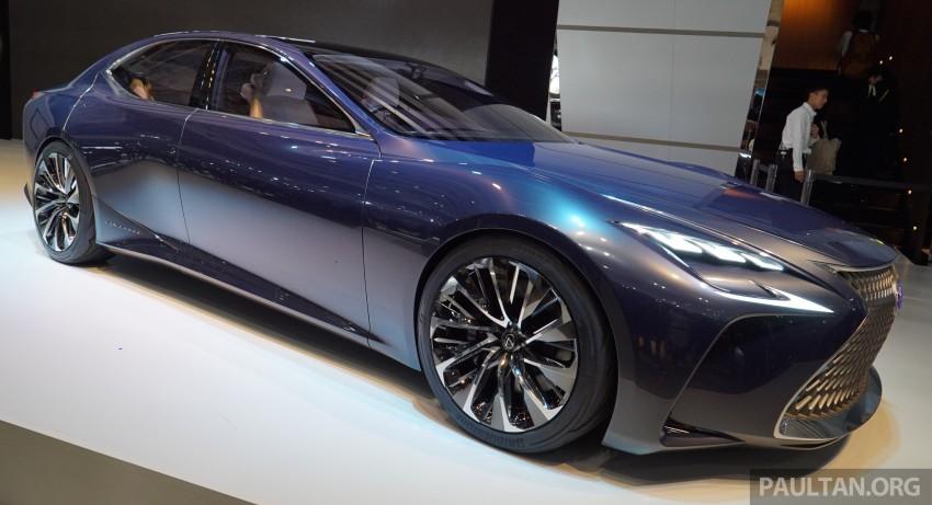 Tokyo 2015: Lexus LF-FC concept previews next LS Image #399054