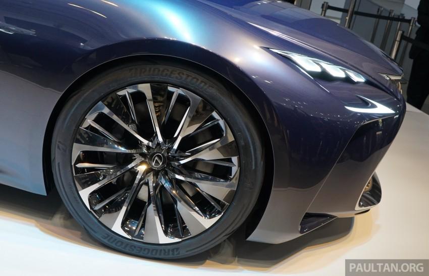 Tokyo 2015: Lexus LF-FC concept previews next LS Image #399055