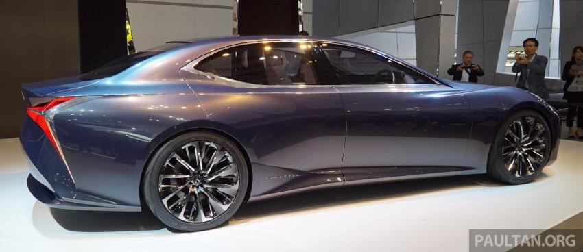 Tokyo 2015: Lexus LF-FC concept previews next LS Image #399060