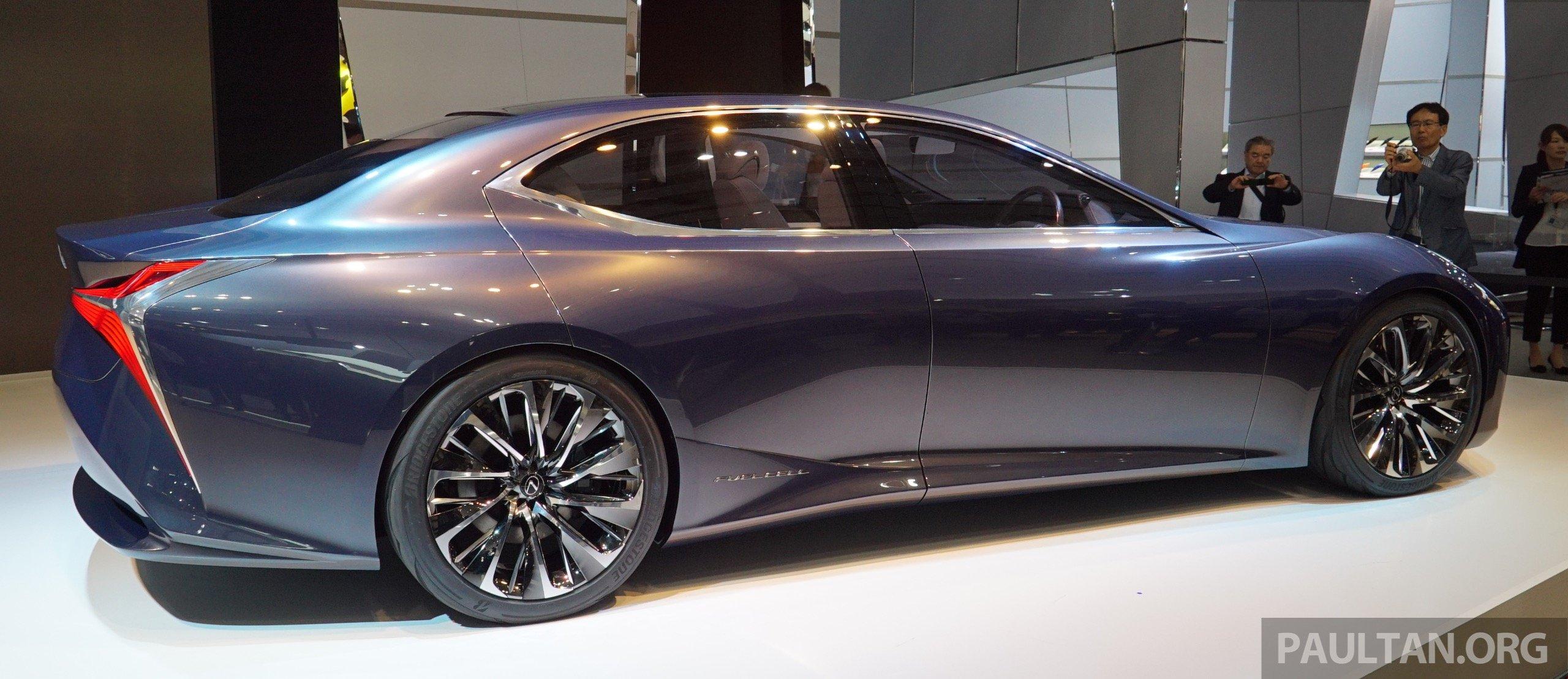 Tokyo 2015: Lexus LF-FC concept previews next LS Image 399060