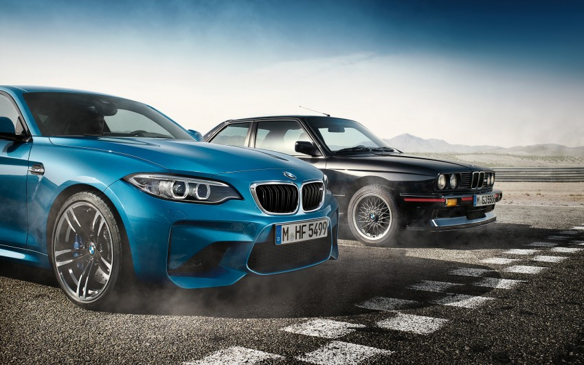 BMW M2 Coupe officially unveiled – 370 hp, 465 Nm Image #392608