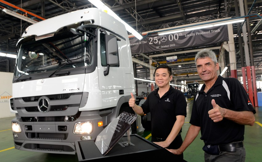 Mercedes-Benz Malaysia's Pekan plant marks production of 25,000th commercial vehicle Image #395203