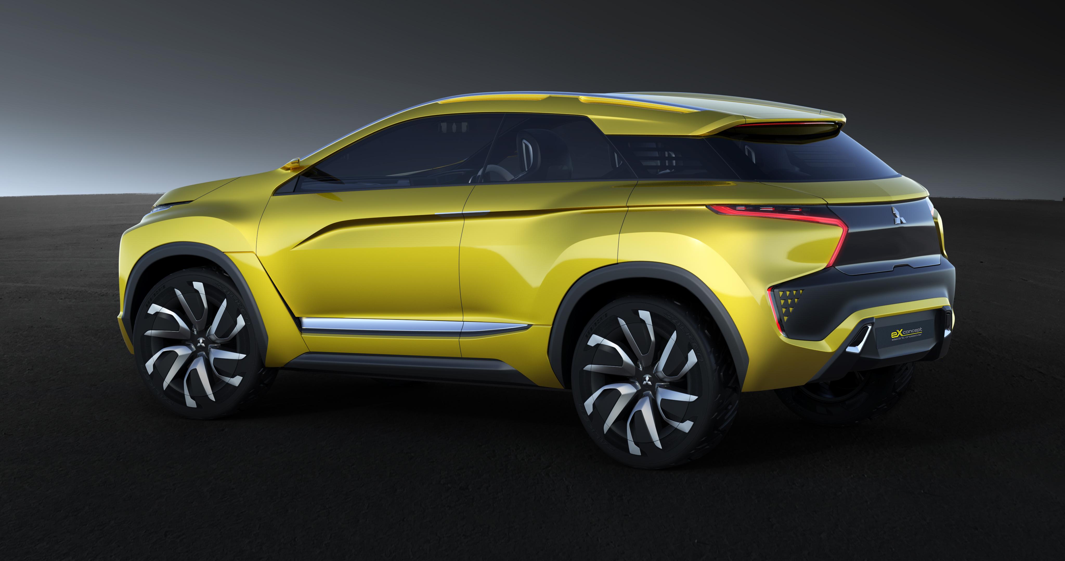 Mitsubishi Suv 2015 >> Mitsubishi eX Concept – EV SUV set for Tokyo debut Image ...