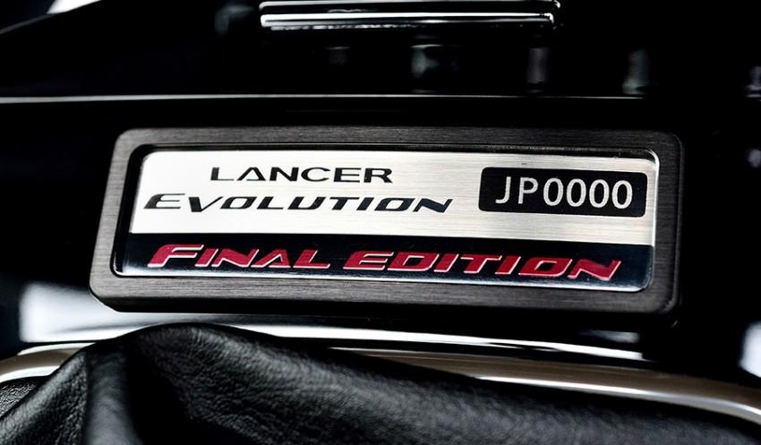 VIDEO: Mitsubishi Lancer Evo X Final Edition build Image #386236