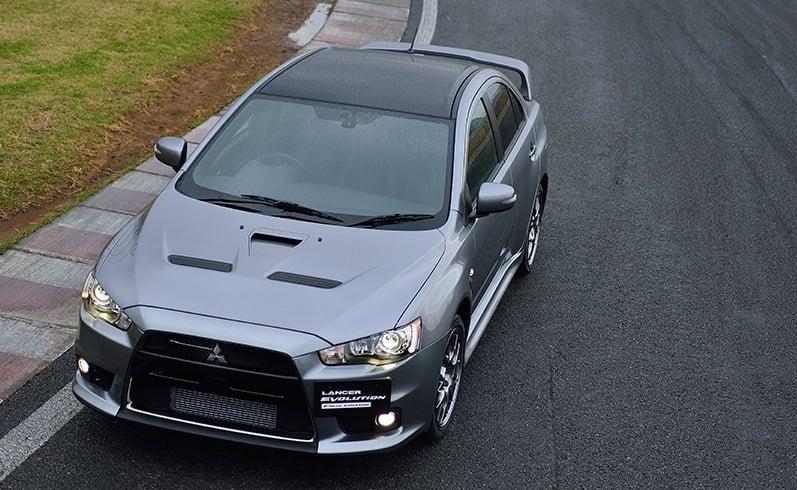 VIDEO: Mitsubishi Lancer Evo X Final Edition build Image #386243