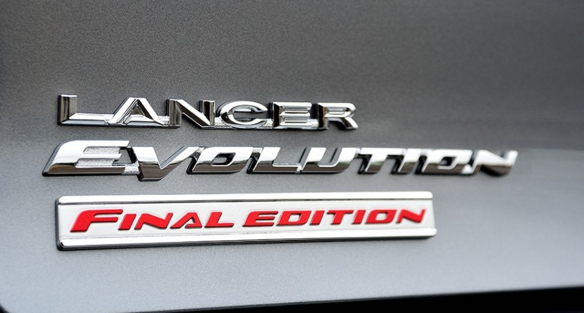 VIDEO: Mitsubishi Lancer Evo X Final Edition build Image #386233