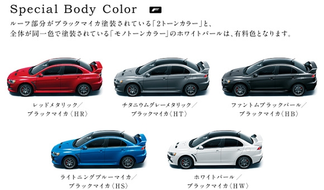 VIDEO: Mitsubishi Lancer Evo X Final Edition build Image #386256