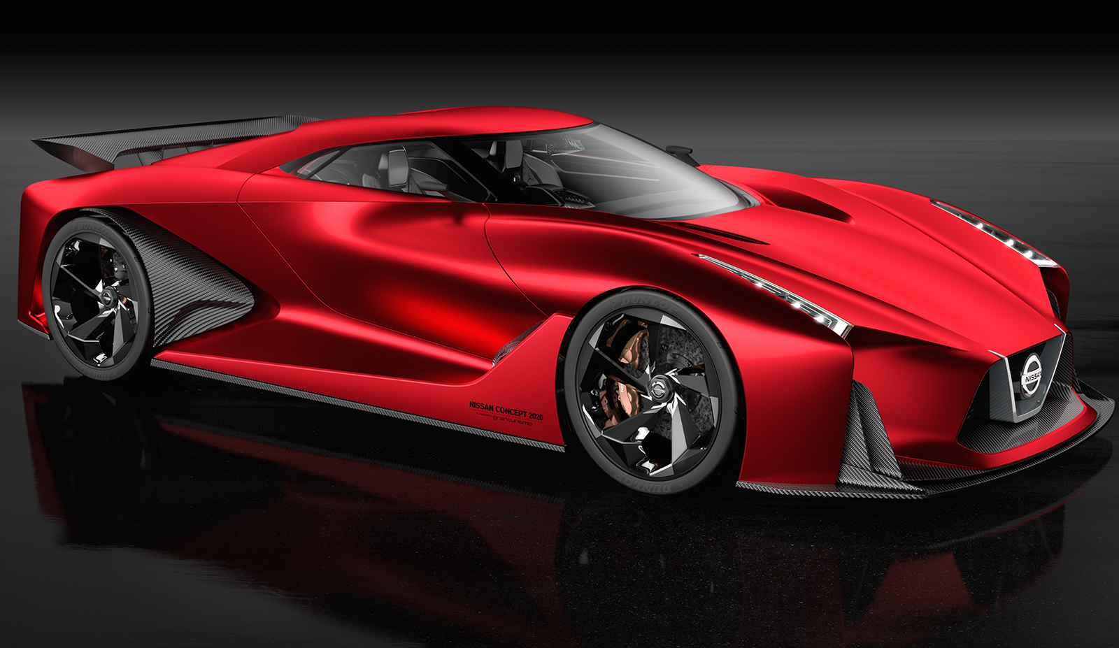 Nissan Concept 2020 Vision Gran Turismo Hot In Red Image