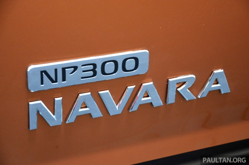 Nissan NP300 Navara VL now on display at 1 Utama Image #395034